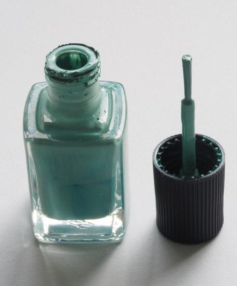 Flaska med nagellack